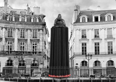 Place des Victoires - Paris -  Photo montage